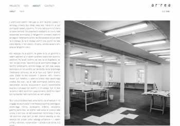 Architecture company profile area