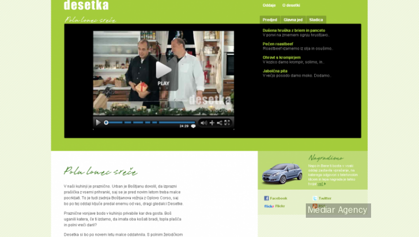 Cooking show (Mediar Agency)