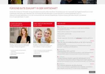 Custom development system for schule fur wirtschaft hamburg