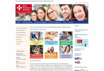 Development for swiss akademie for health professionals