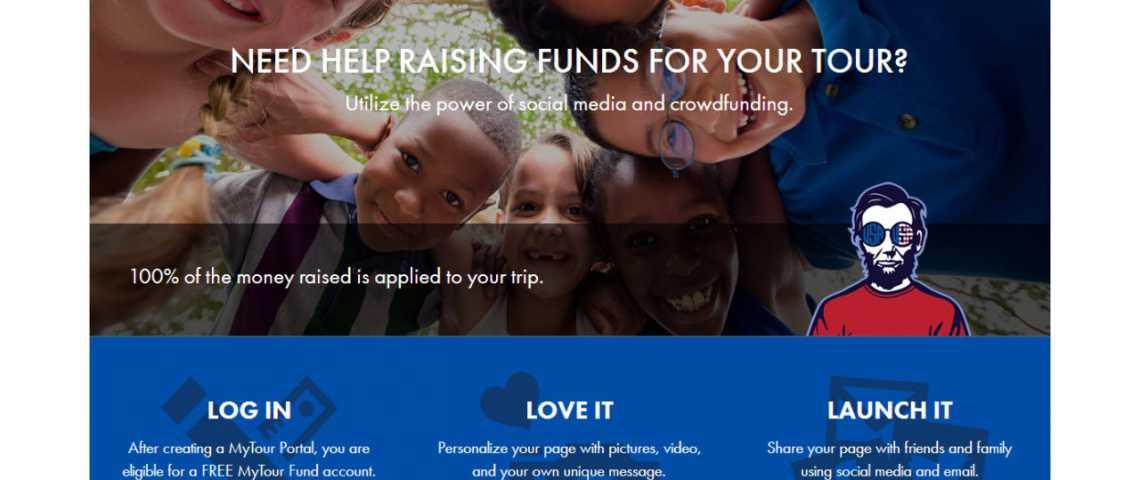 Fundraising touristic tours