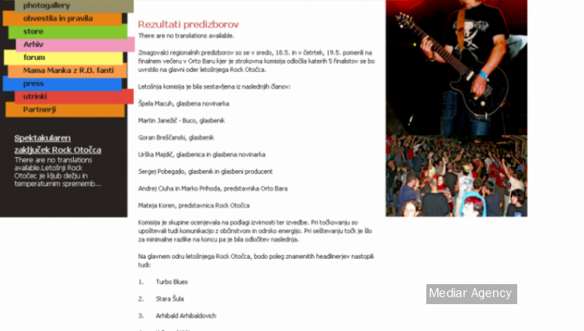 Slovenias biggest rock festival (Mediar Agency)